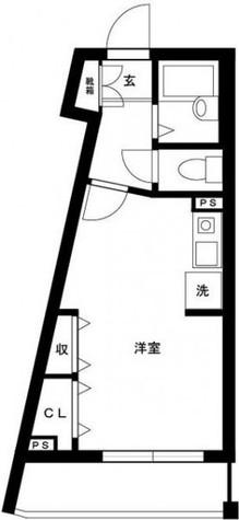 クレメント白金JP / 205 部屋画像1