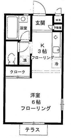 アルコピーノ目黒 / 2階 部屋画像1