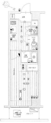 シンシティー本蓮沼ベルグレード / 10階 部屋画像1