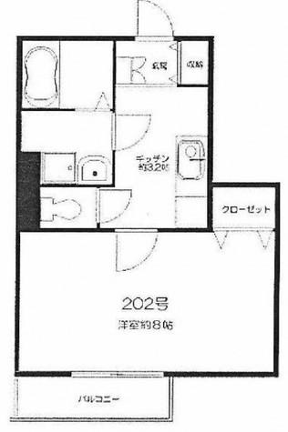 ガーデンサイド広尾 / 3階 部屋画像1