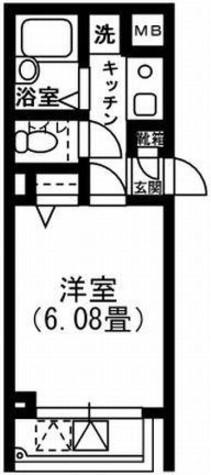 クレメント白金JP / 208 部屋画像1