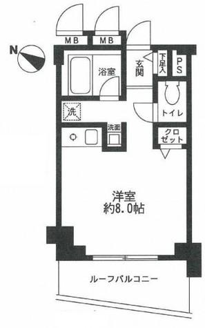エスポワール渋谷松涛 / 702 部屋画像1