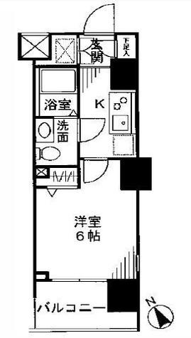 ドゥーエ大森(旧アジールコート大森) / 8階 部屋画像1
