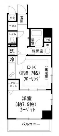 エクメーネ日本橋 / 2階 部屋画像1
