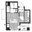メゾンドコート八丁堀 / 402 部屋画像1