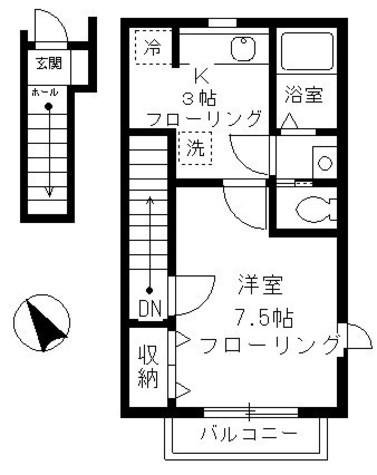 デザインコート上目黒 / 2階 部屋画像1