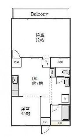 ハイツ玄洋 / 3階 部屋画像1
