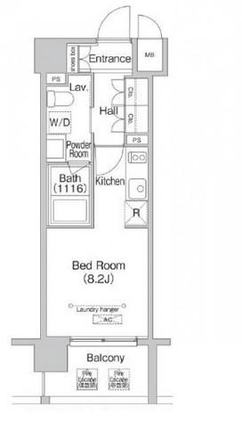 エミネンス高輪台 / 802 部屋画像1