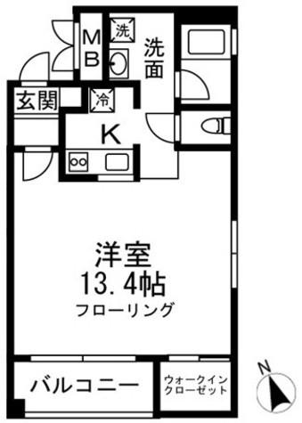 岸ビル / 2階 部屋画像1