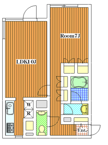 DIX上野毛 / 301 部屋画像1