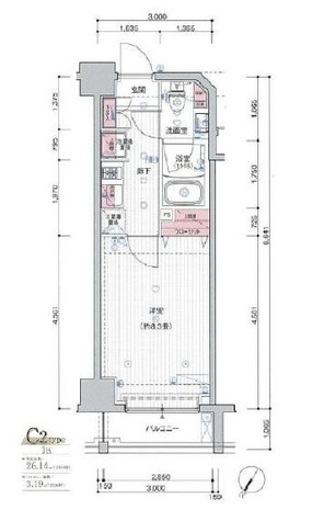 プレール・ドゥーク日本橋 / 2階 部屋画像1