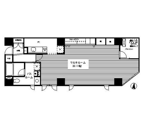 クレイドル日本橋 / 702 部屋画像1