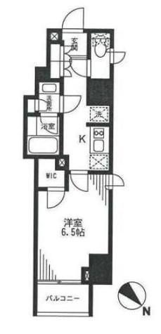 プランドール水天宮 / 6階 部屋画像1