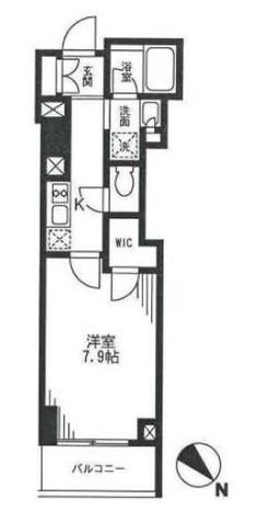 プランドール水天宮 / 14階 部屋画像1