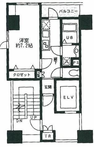 モーニングサイド銀座 / 6階 部屋画像1