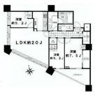 パークコート麻布十番ザ・タワー / 27階 部屋画像1