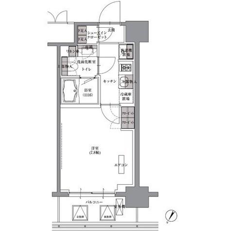 プレジリア人形町 / 3階 部屋画像1