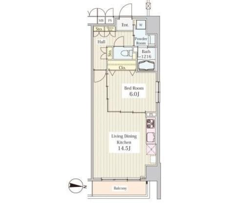 ヒュぺリオン東陽町 / 2階 部屋画像1