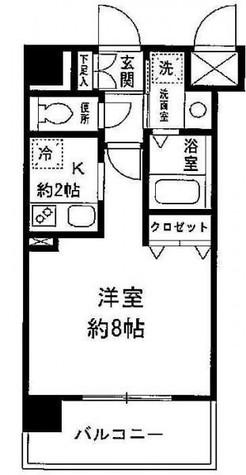 コスモシティ大森 / 5階 部屋画像1