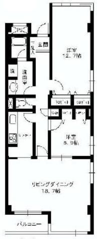 アーバンコート市ヶ谷 / 2階 部屋画像1