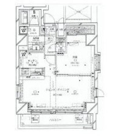 コンシェリア麻布十番 / 14階 部屋画像1