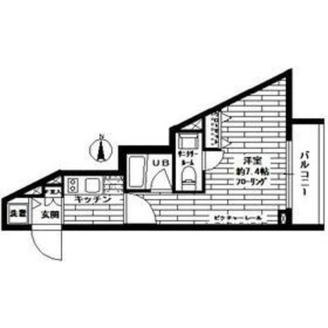 ステージファースト西大井一番館 / 2階 部屋画像1