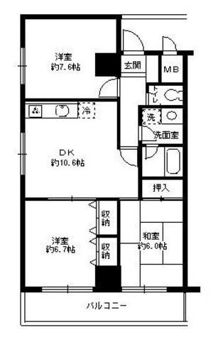 CSタワーアネックス / 8階 部屋画像1