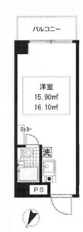 セジュール田町 / 8階 部屋画像1