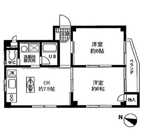 目黒プレイス / 1階 部屋画像1