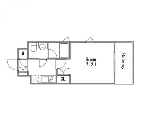 パシフィックレジデンス芝一丁目 / 301 部屋画像1