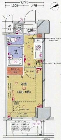菱和パレス大森 / 6階 部屋画像1
