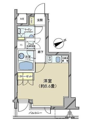 カスタリア日本橋 / 502 部屋画像1