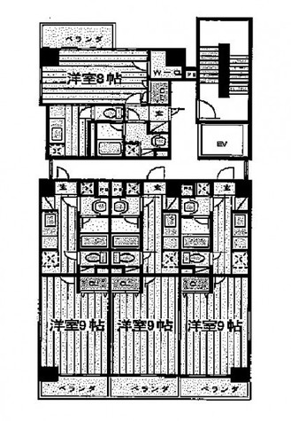 Park Rooms(パークルームズ) / 8階 部屋画像1