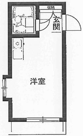 レジダンスイン・目黒 / 407 部屋画像1