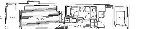 ミラフローレス赤坂 / 7階 部屋画像1