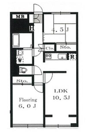 湯島ハイタウンB棟 / 10階 部屋画像1