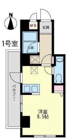 ステラ仙台坂 / 2階 部屋画像1
