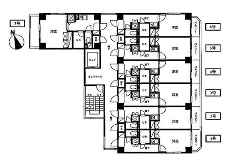 コート新橋 / 4階 部屋画像1