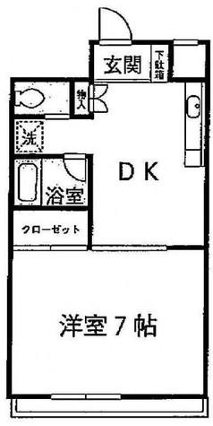 京王目黒マンション / 2階 部屋画像1
