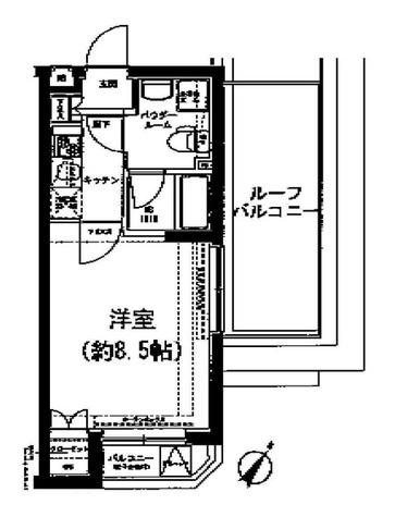 SPATIE SOLIDE MEGURO(スパシエソリデ目黒) / 5階 部屋画像1
