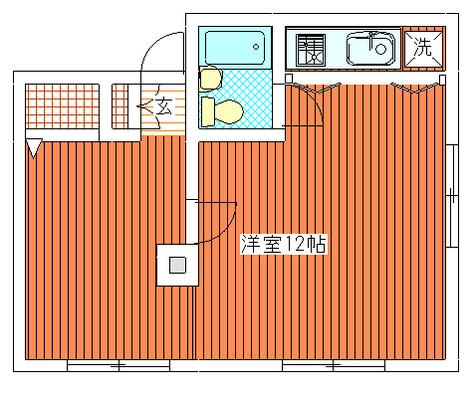 自由が丘FUKI / 203 部屋画像1