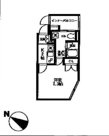 PARKSIDE SPEC Den-en chofu(パークサイドスペック田園調布) / 3階 部屋画像1