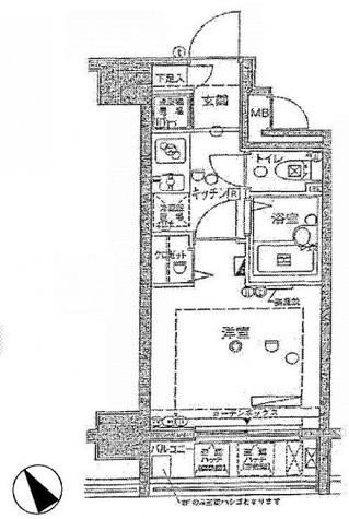 サンシティ月島アヴァンツァーレ / 3階 部屋画像1