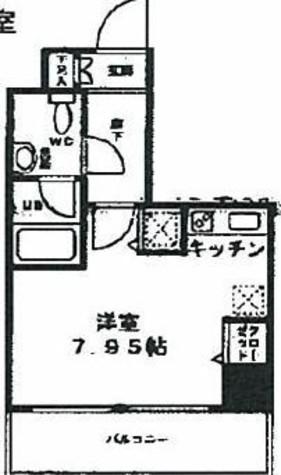 コンフォリア両国DEUX (旧名称ベルファース両国千歳) / 6階 部屋画像1
