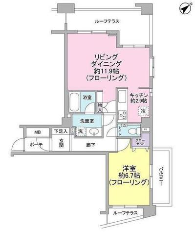 朝日サテライト上野 / 10階 部屋画像1