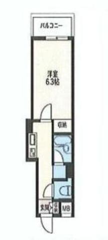 エスティメゾン神田(旧スペーシア神田) / 10階 部屋画像1