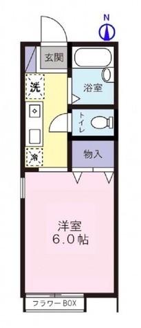 グランシャリオ目黒 / 2階 部屋画像1