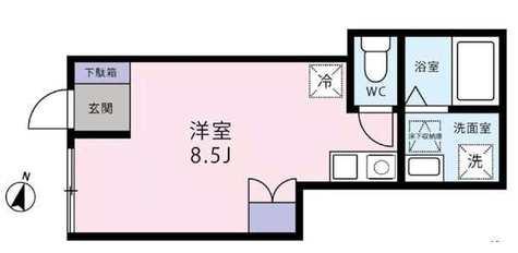 カサベルデ八雲 / 102 部屋画像1