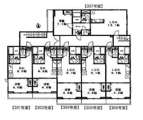 メゾン・ド・コフレ自由が丘Ⅰ / 3階 部屋画像1
