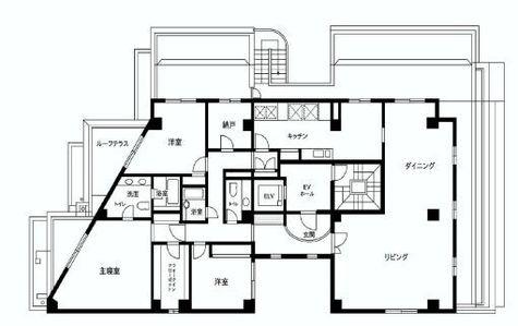 千駄ヶ谷パークコート / 401 部屋画像1